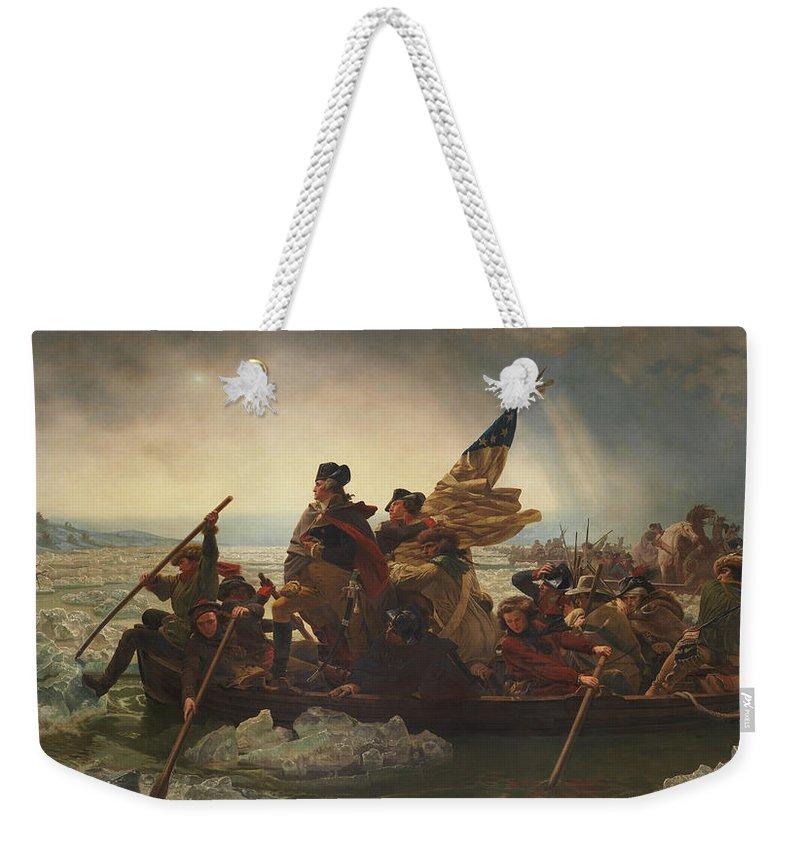 George Washington Weekender Tote Bags
