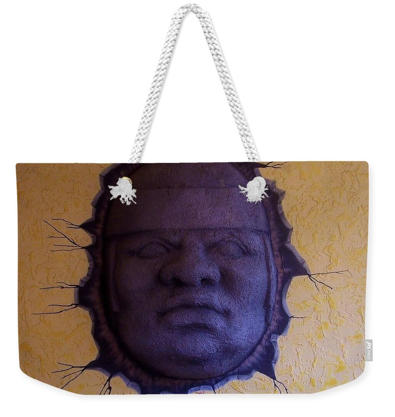 Face Weekender Tote Bag featuring the photograph Watch What You Eat by Debbi Granruth