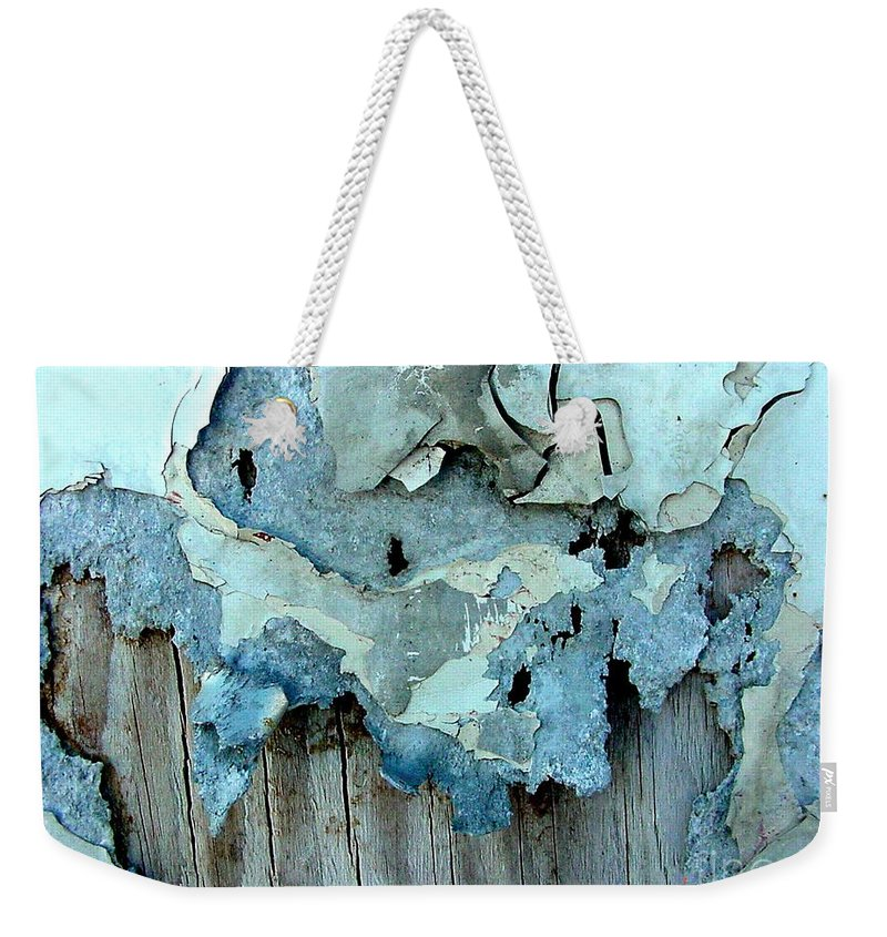 Digital Weekender Tote Bag featuring the photograph Watching Paint Dry by Ron Bissett