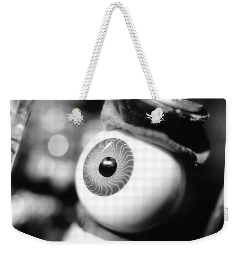Eye Weekender Tote Bag featuring the photograph Watching You by Jeffery Ball