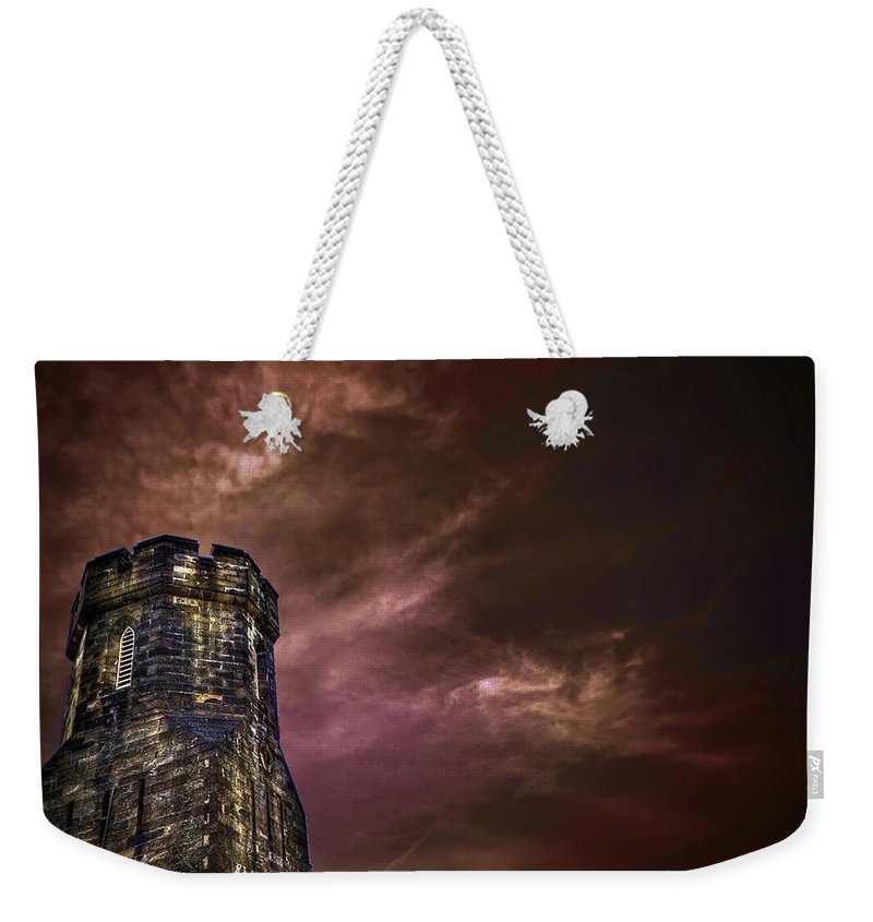 Tower Weekender Tote Bag featuring the photograph Watchtower by Evelina Kremsdorf