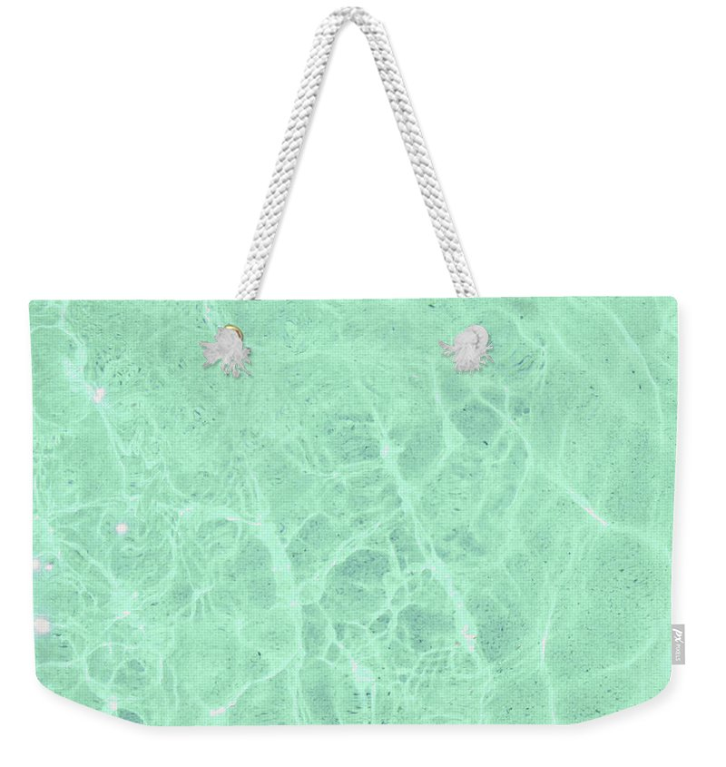 Water Weekender Tote Bag featuring the photograph Water by Cassia Beck