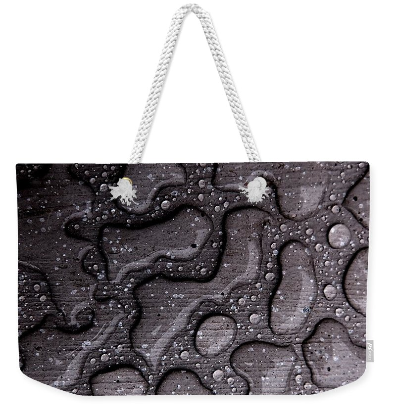 Water Weekender Tote Bag featuring the photograph Water Puzzle by Tim Beebe
