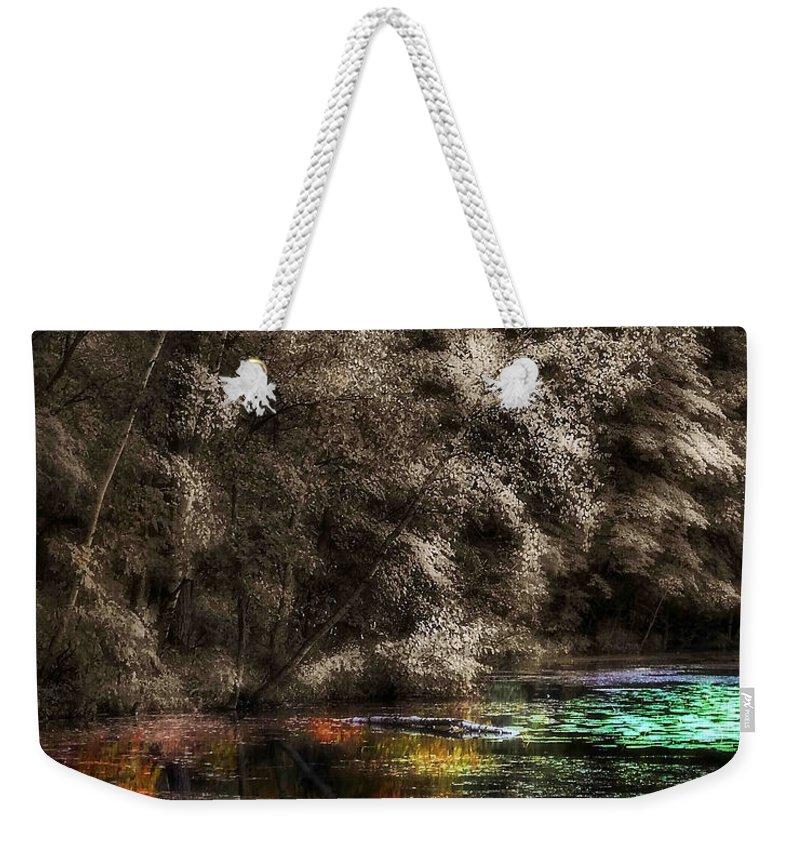 Lauren Radke Weekender Tote Bag featuring the photograph Watercolors by Lauren Radke