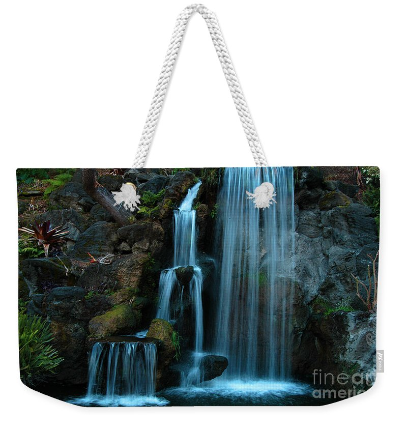 Clay Weekender Tote Bag featuring the photograph Waterfalls by Clayton Bruster