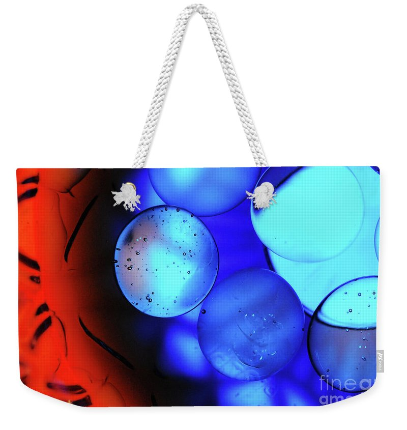 Water Weekender Tote Bag featuring the photograph Waterscape 14 by Nancy Mueller