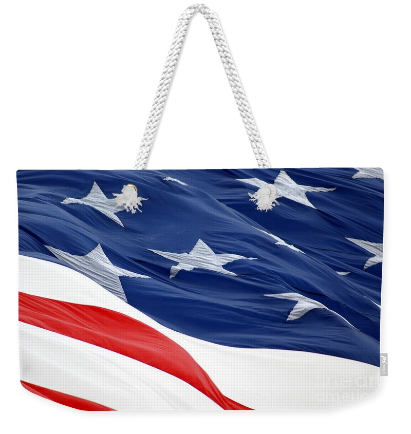 Stars Weekender Tote Bag featuring the photograph Waves by Jennifer Diaz