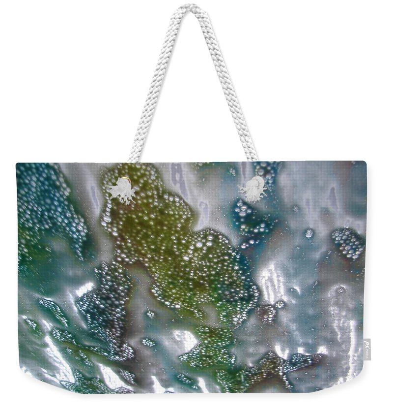 Weekender Tote Bag featuring the photograph Wax On by Luciana Seymour