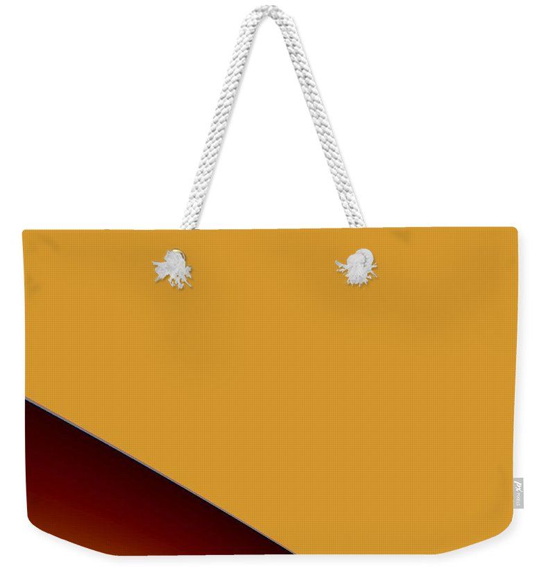 Digital Art Weekender Tote Bag featuring the digital art way I by Dragica Micki Fortuna