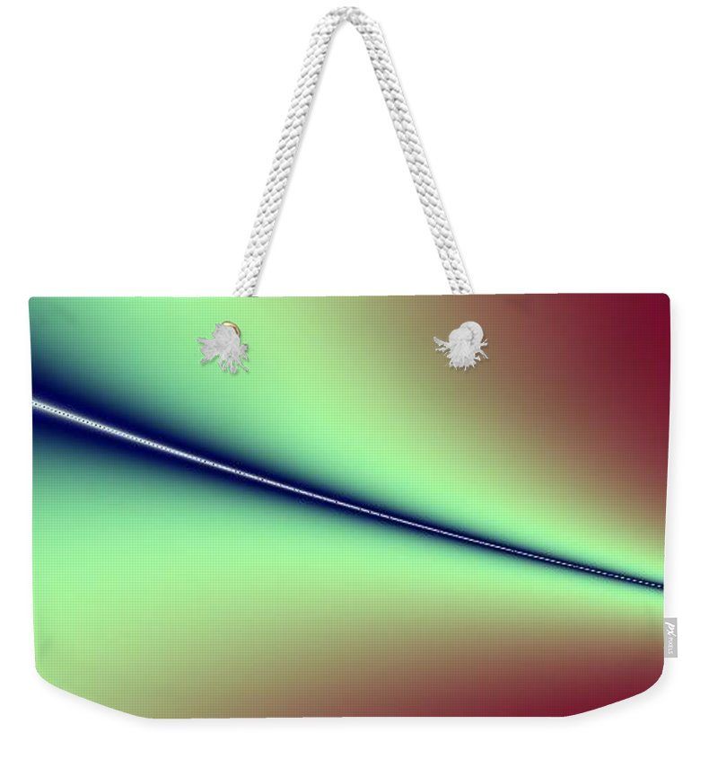 Digital Art Weekender Tote Bag featuring the digital art Way Out I by Dragica Micki Fortuna