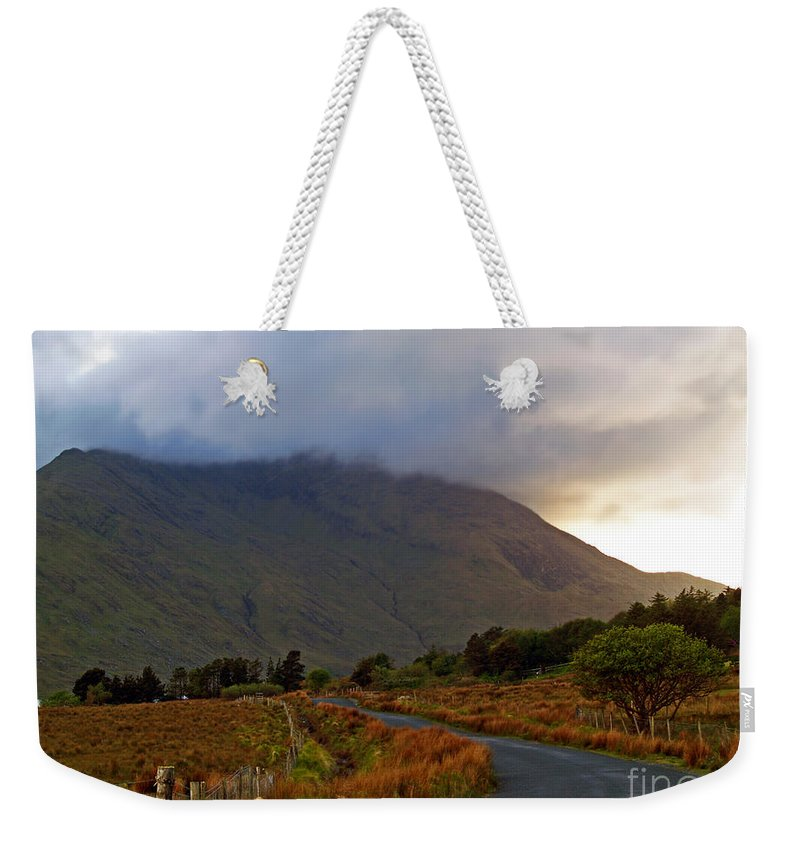 Fine Art Photography Weekender Tote Bag featuring the photograph We Took The Road Less Traveled by Patricia Griffin Brett
