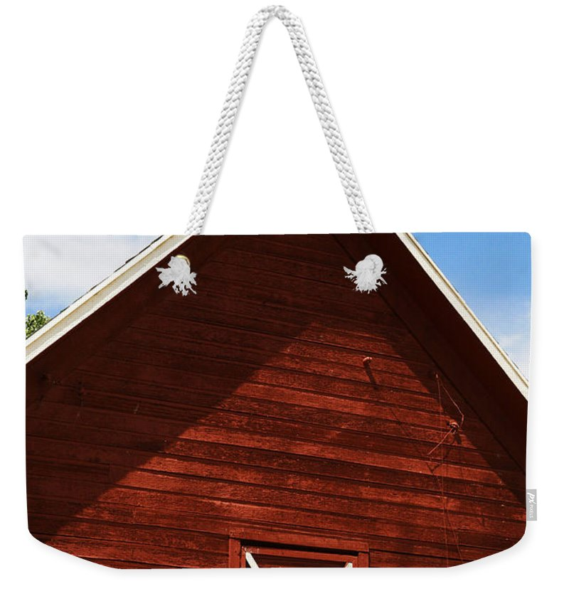 Weather Weekender Tote Bag featuring the photograph Weather Vane by Marilyn Hunt