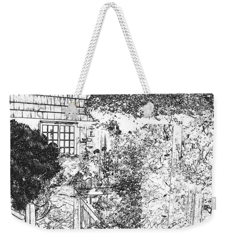 Welcome Home Weekender Tote Bag featuring the digital art Welcome Home 2 by Will Borden