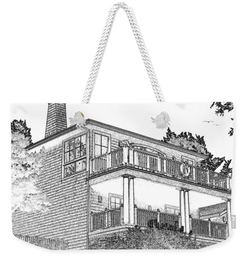 Welcome Home Weekender Tote Bag featuring the digital art Welcome Home 9 by Will Borden