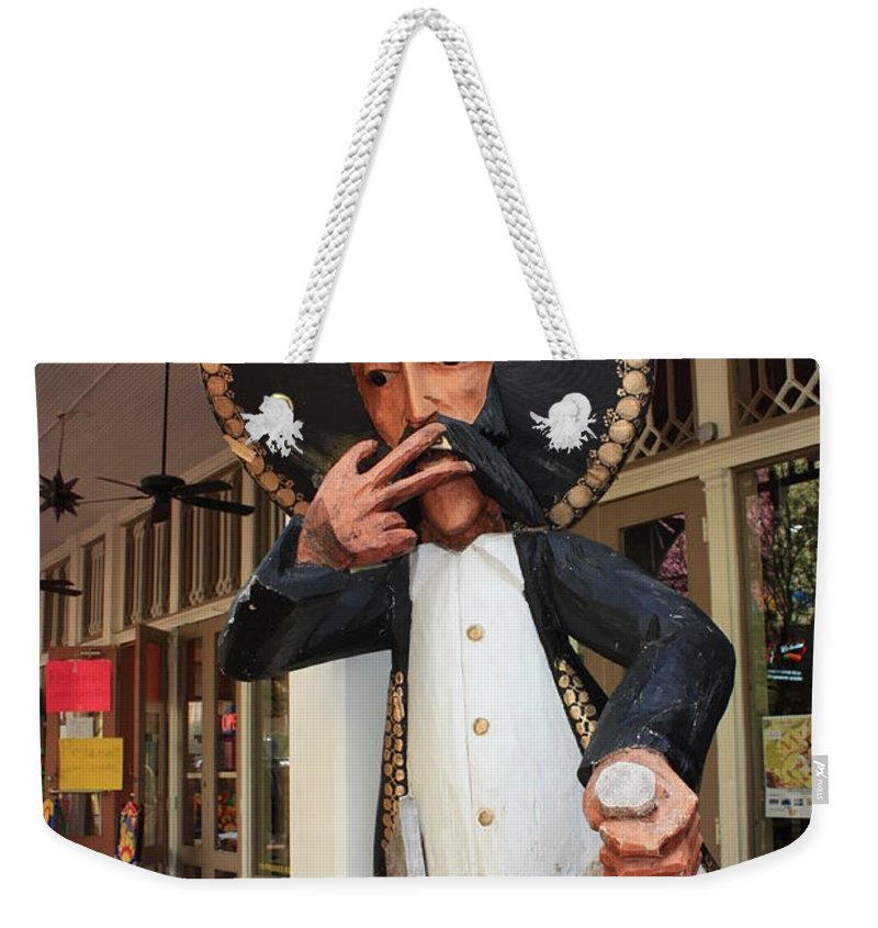 El Mercado Weekender Tote Bag featuring the photograph Welcome To El Mercado by Carol Groenen