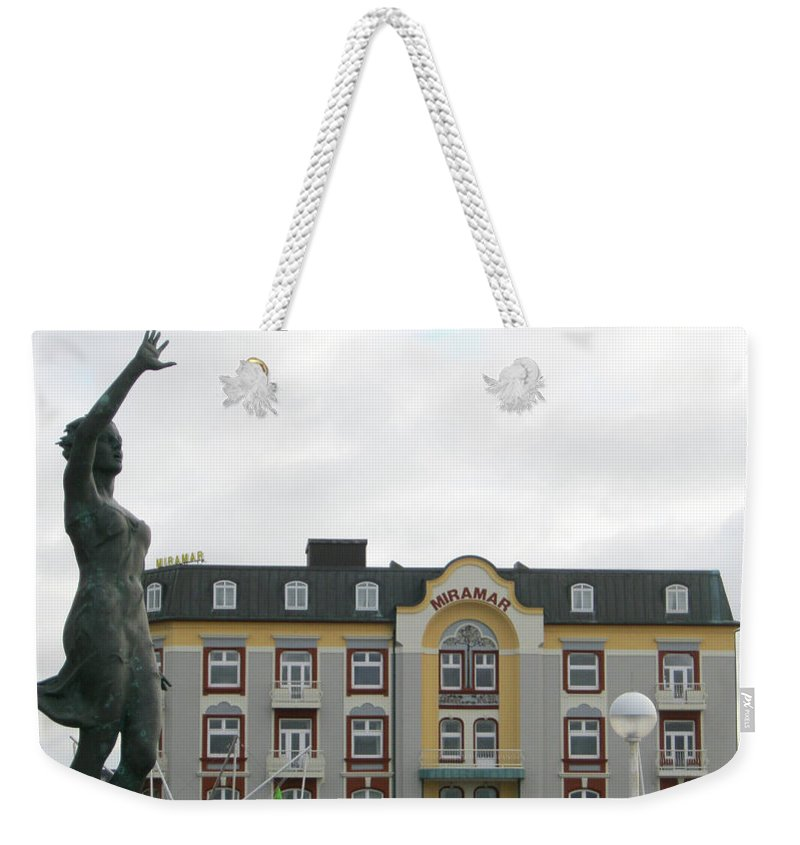 Welcoming Wind Weekender Tote Bag featuring the photograph Welcoming Lovely Wind by Heidi Sieber