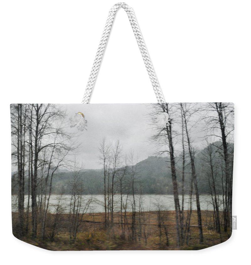 Oregon Weekender Tote Bag featuring the photograph Western Cascade Foothills by Kyle Hanson