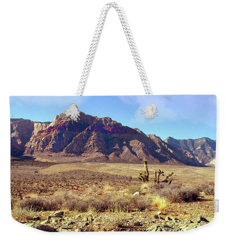 Frank Wilson Weekender Tote Bag featuring the photograph Western Desolation by Frank Wilson
