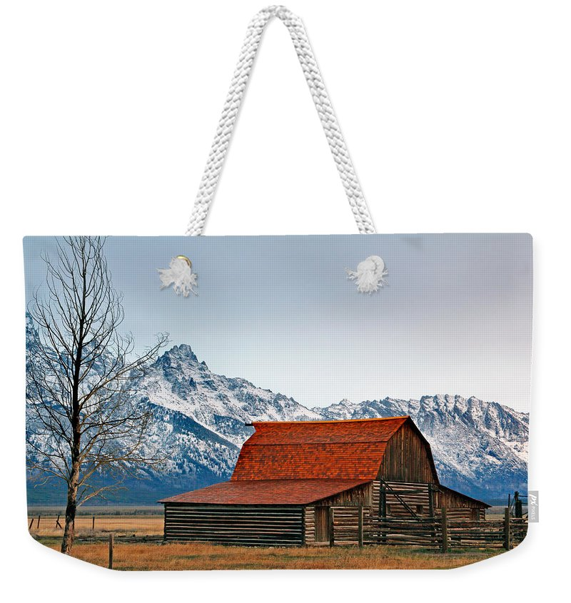 Western Weekender Tote Bag featuring the photograph Western Living 2 by Nicholas Blackwell