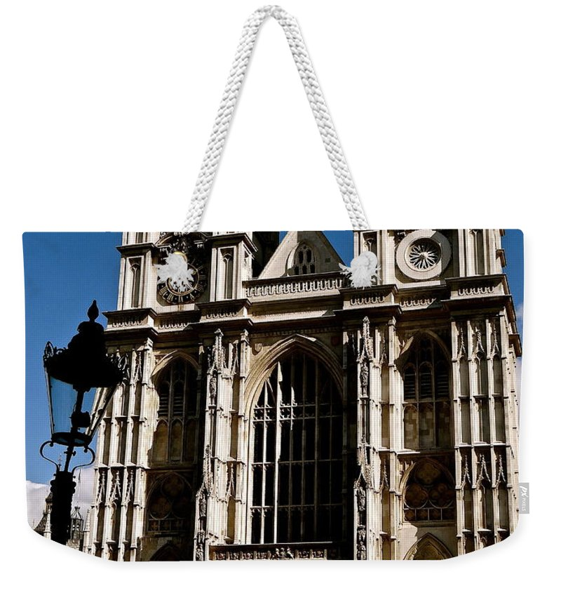 Westminster Abbey Weekender Tote Bag featuring the photograph Westminster Abbey by Ira Shander