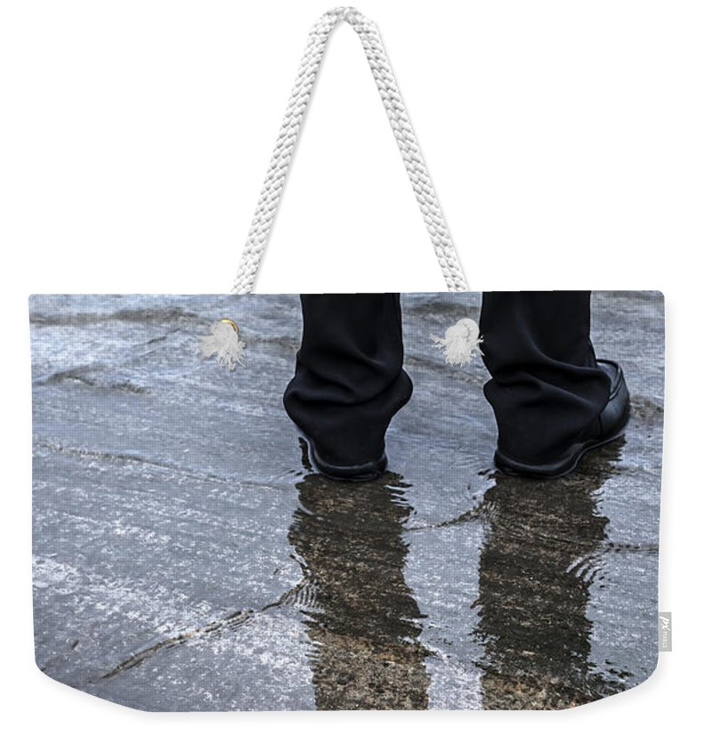 Art Weekender Tote Bag featuring the photograph Wet by Svetlana Sewell