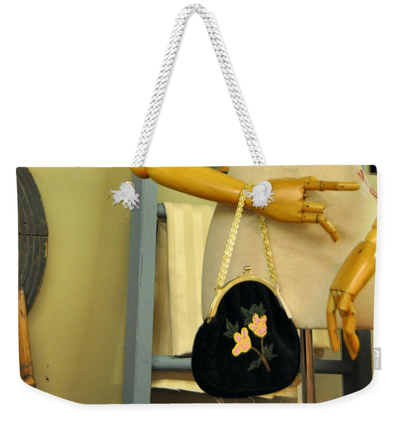 Still Life Weekender Tote Bag featuring the photograph What A Time That Was by Jan Amiss Photography