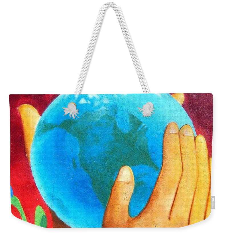 Wonderful Weekender Tote Bag featuring the photograph What a Wonderful World ... by Juergen Weiss