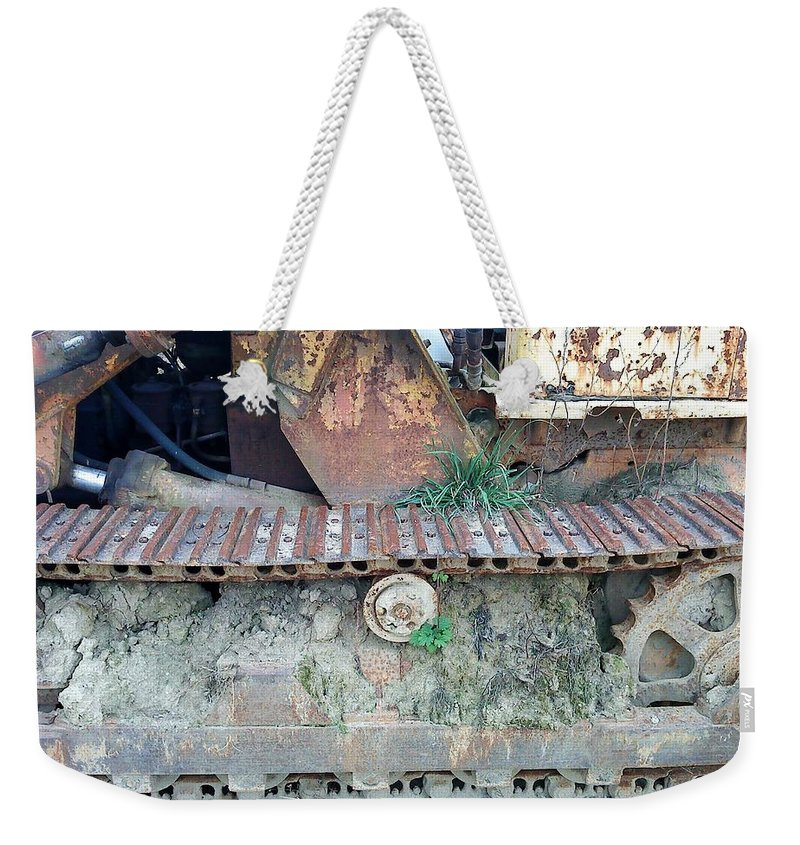 Caterpillar Season Weekender Tote Bag featuring the photograph Wheel Of Time by Wolfgang Schweizer