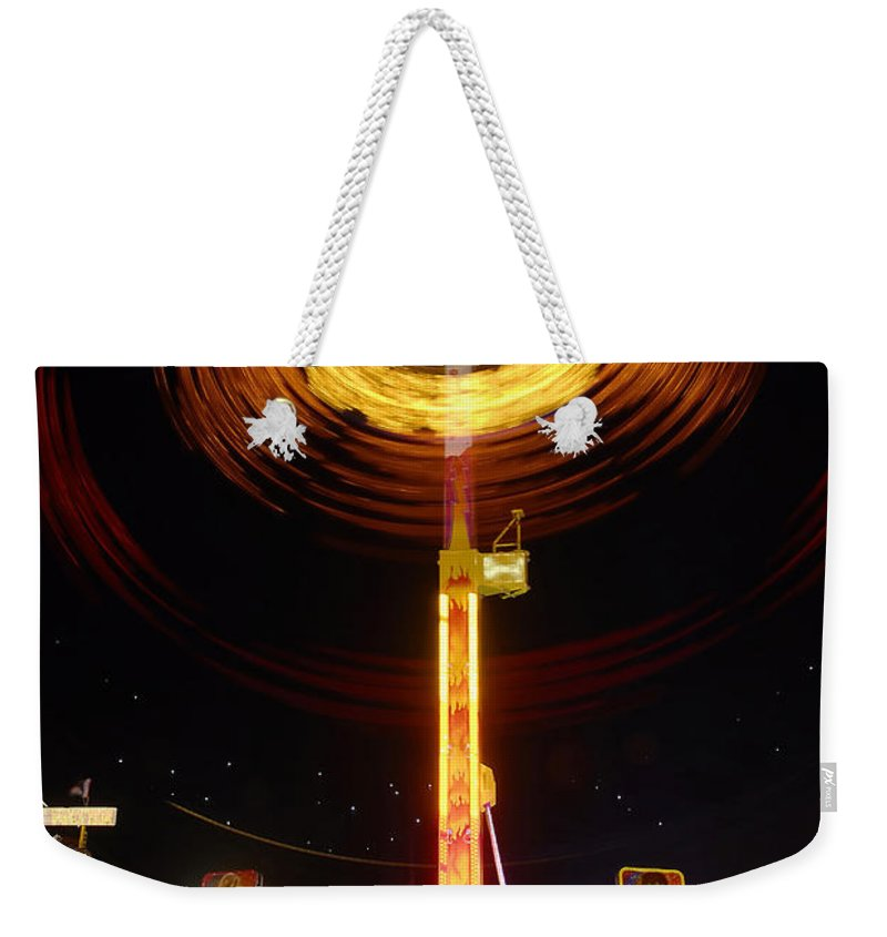 Fair Weekender Tote Bag featuring the photograph Wheels Of Wonder by David Lee Thompson