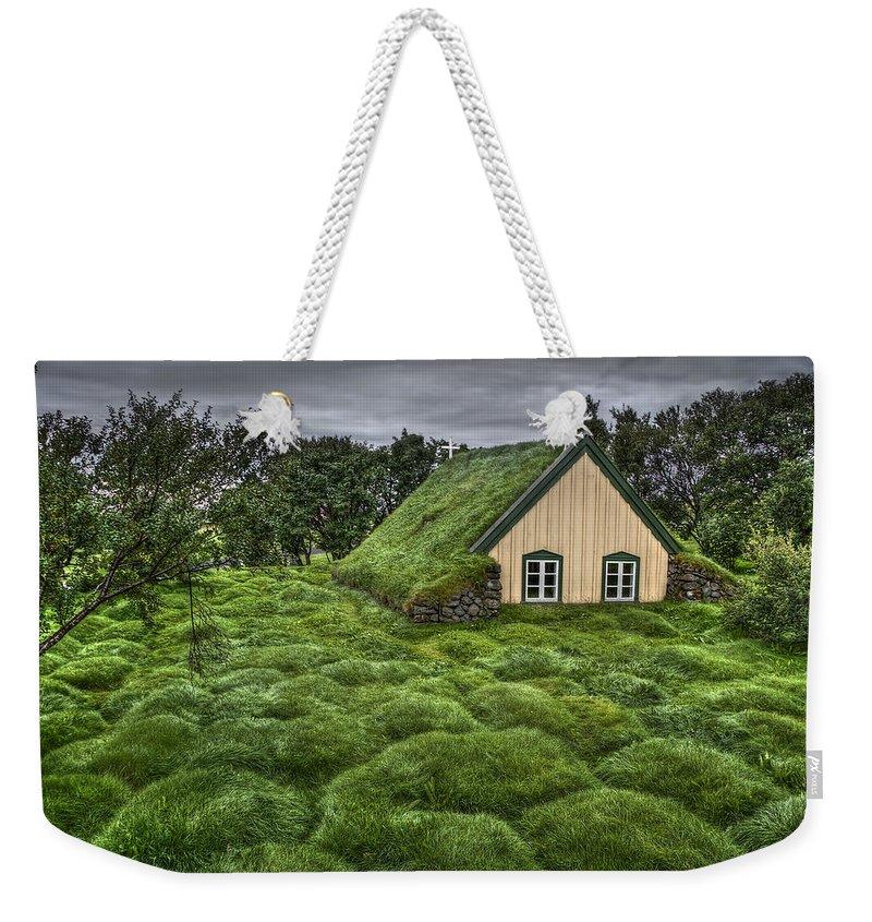 Church Weekender Tote Bags