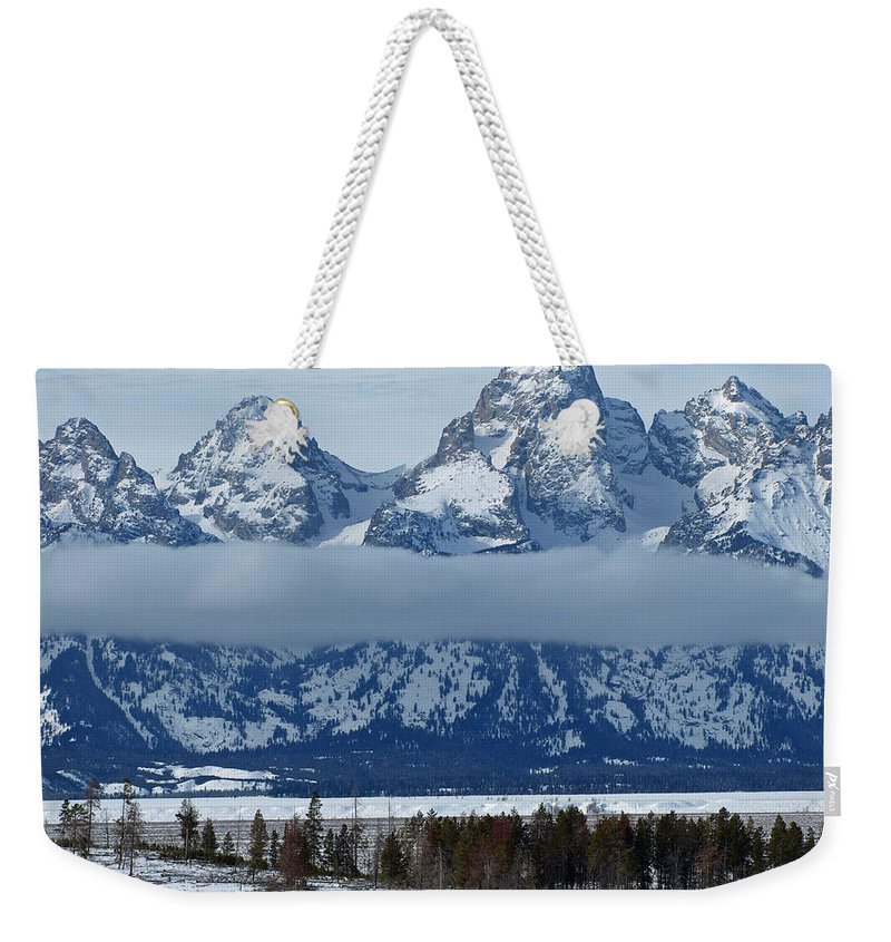 Bison Weekender Tote Bag featuring the photograph Where The Buffalo Roam by DeeLon Merritt