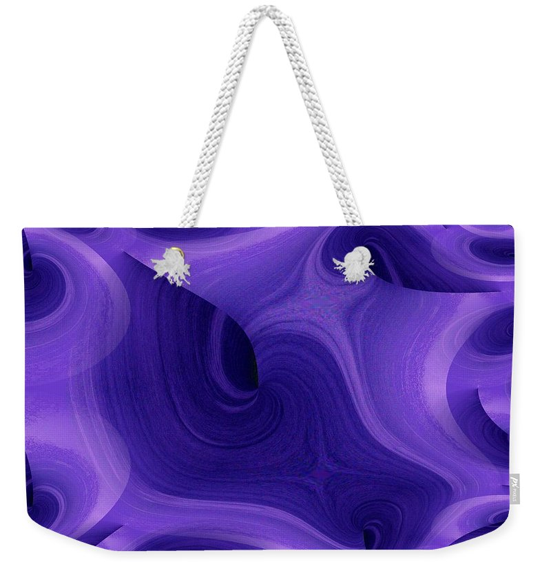 Fractals Weekender Tote Bag featuring the photograph Whirlpool 1 by Tim Allen
