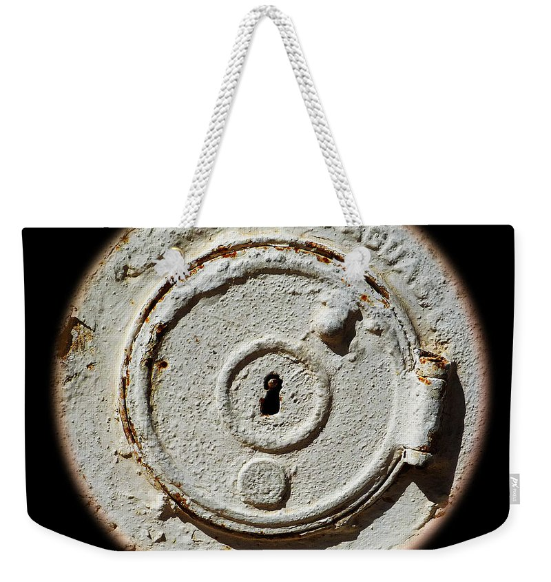 White Weekender Tote Bag featuring the photograph Whistler by Charles Stuart