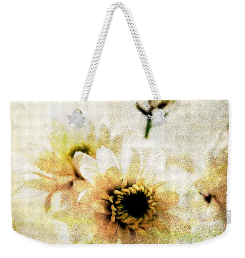 Bouquet Mixed Media Weekender Tote Bags
