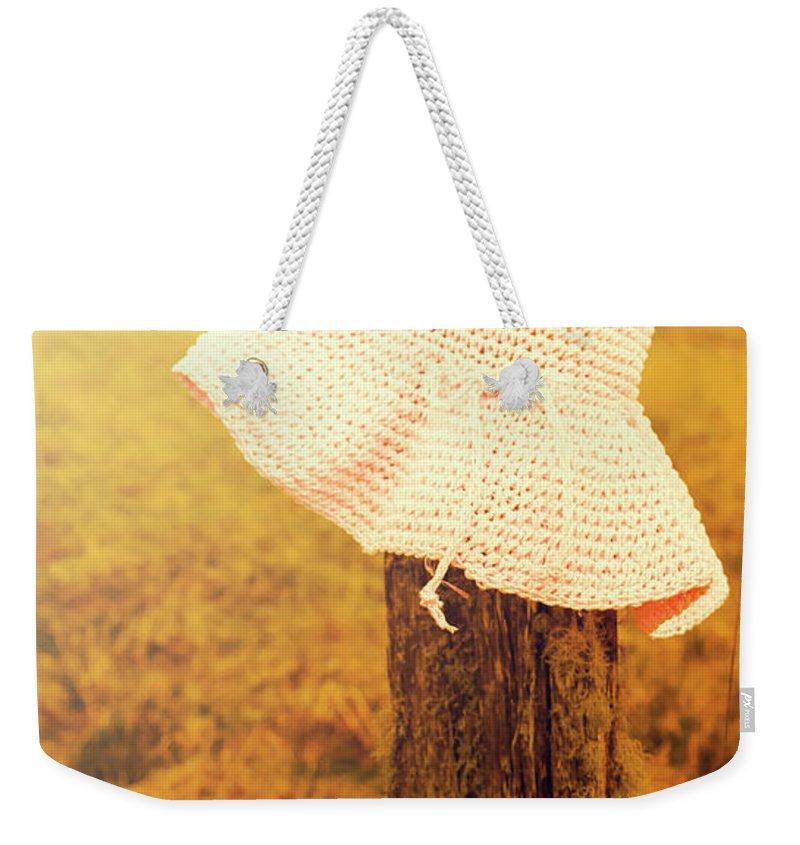 Knit Hat Photographs Weekender Tote Bags