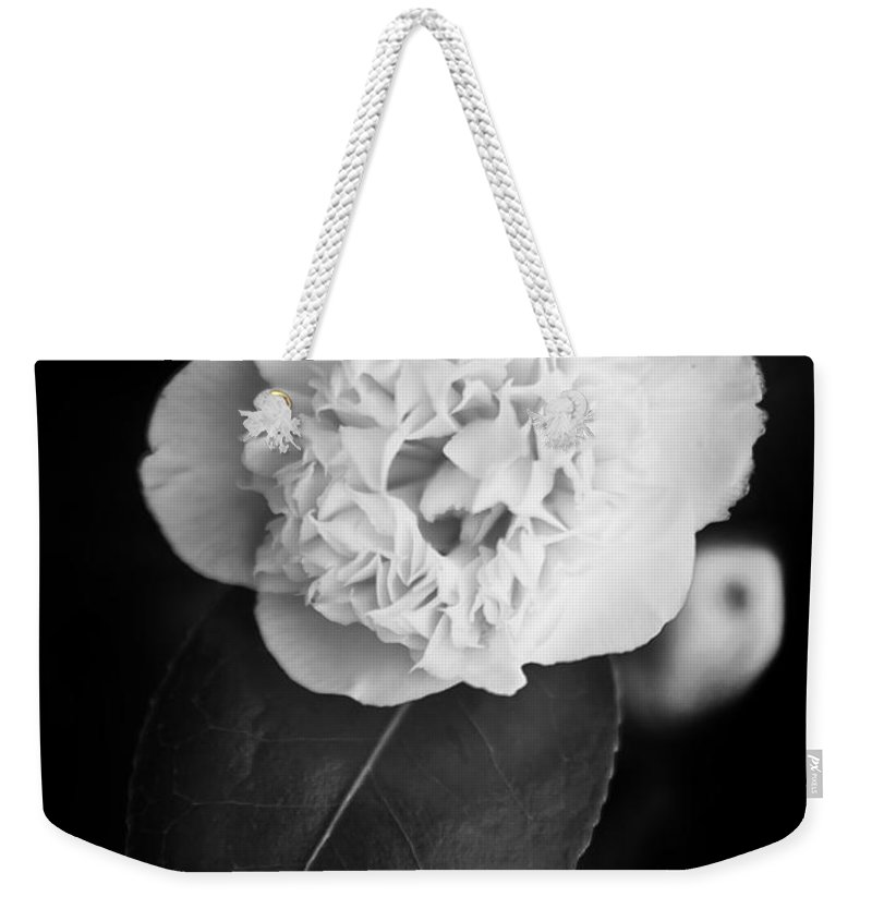 White Weekender Tote Bag featuring the photograph White Tenderness by Alex Art and Photo