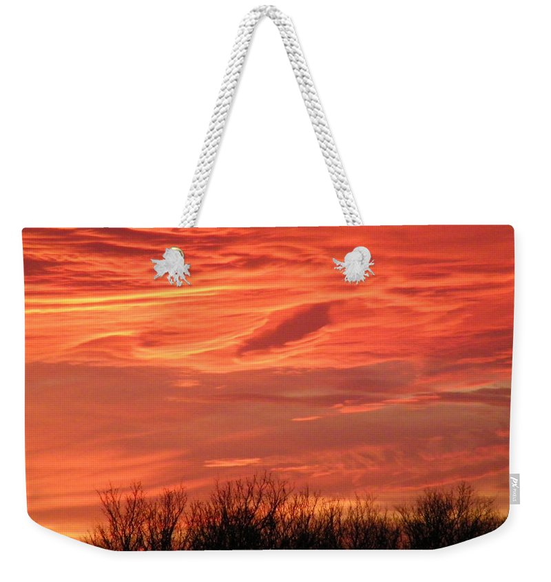 Sunset Weekender Tote Bag featuring the photograph Who Needs Jupiter by Gale Cochran-Smith