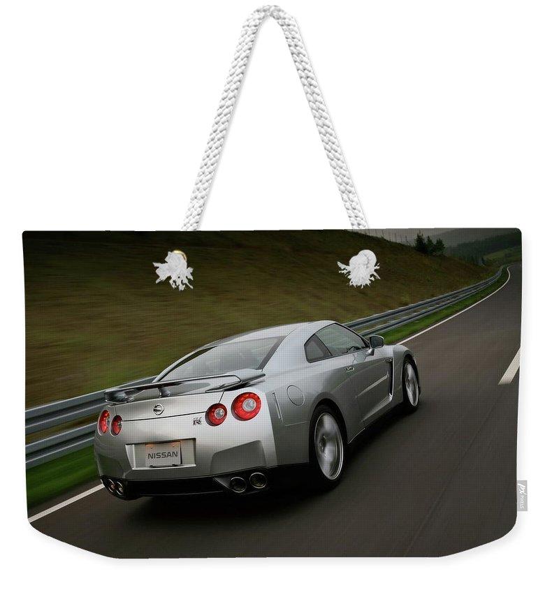 Wide X1200 0911 Weekender Tote Bag featuring the digital art Wide 1920x1200 03911 by Mery Moon
