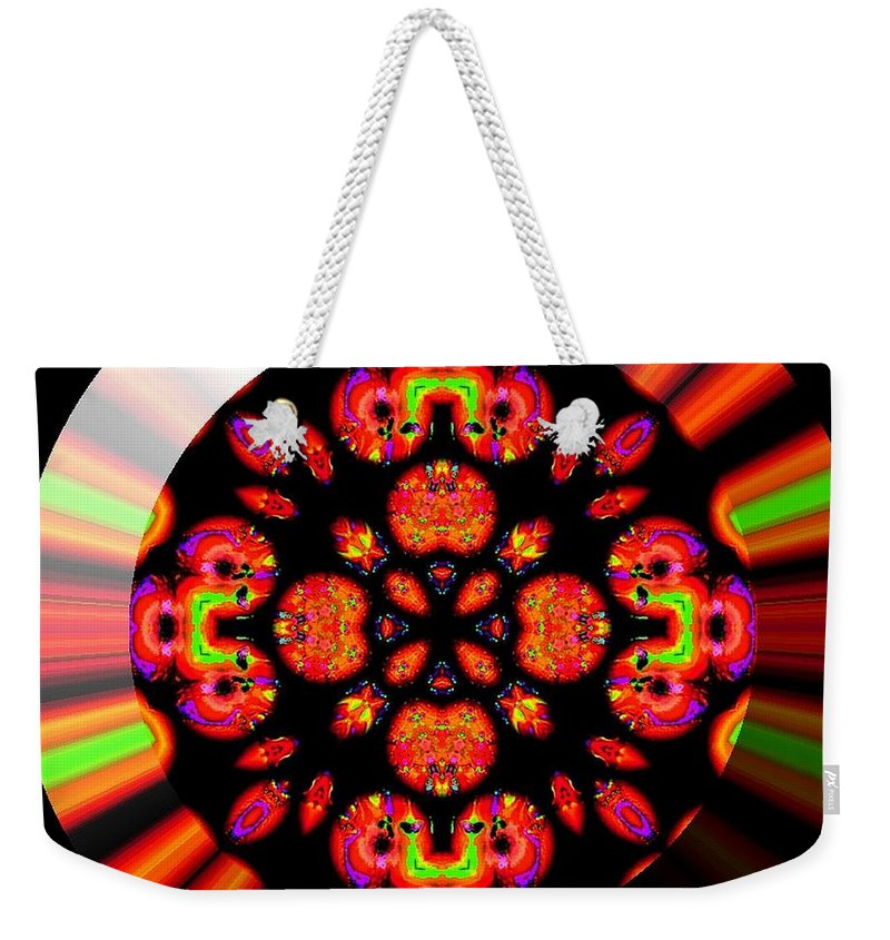 Coin Weekender Tote Bag featuring the digital art Wild Child by Robert Orinski