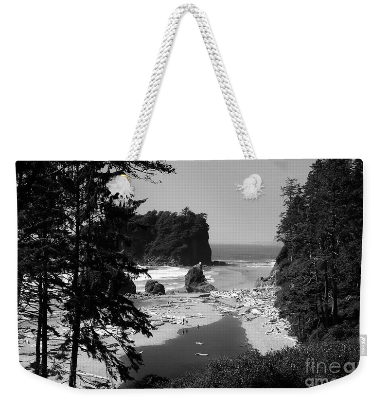 Cove Weekender Tote Bag featuring the photograph Wild Cove by David Lee Thompson