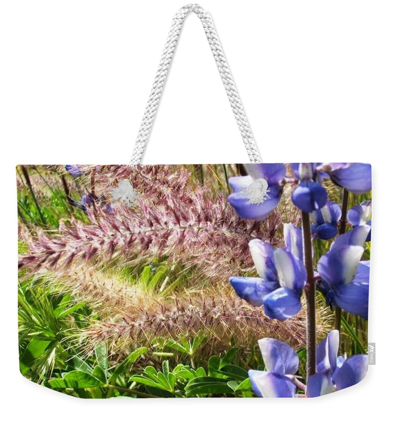 Flower Weekender Tote Bag featuring the photograph Wild Flower by Shari Chavira