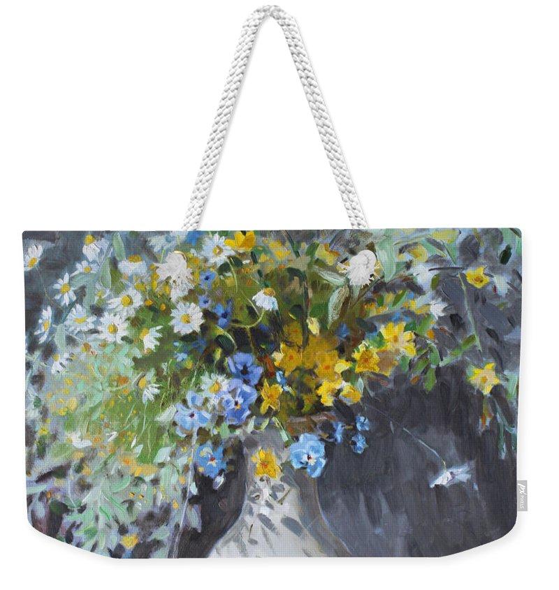 Wild Life Weekender Tote Bags