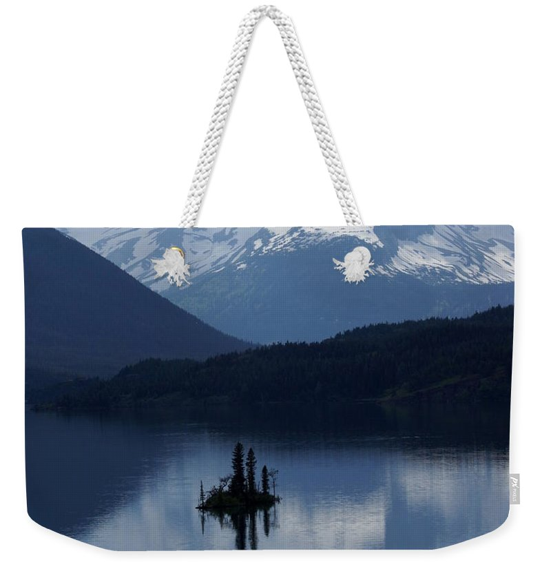 Wild Goose Island Weekender Tote Bag featuring the photograph Wild Goose Island by Marty Koch