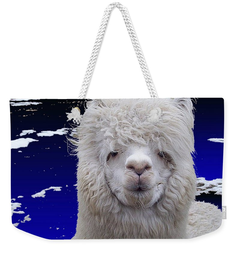 Alcapca Weekender Tote Bag featuring the digital art Wild Life by Robert Orinski