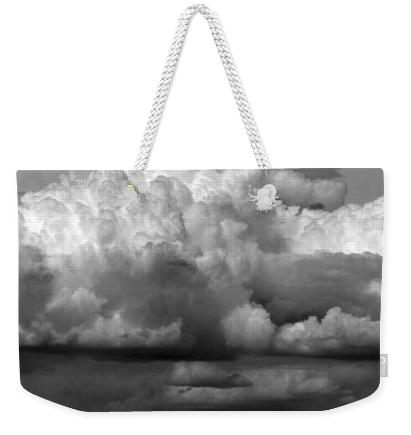 Weather Weekender Tote Bag featuring the photograph Wild Weather by Marilyn Hunt