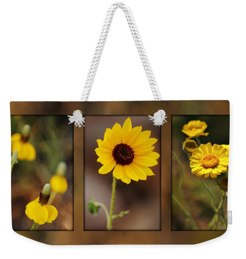 Wildflower Weekender Tote Bag featuring the photograph Wildflower 3 by Jill Reger