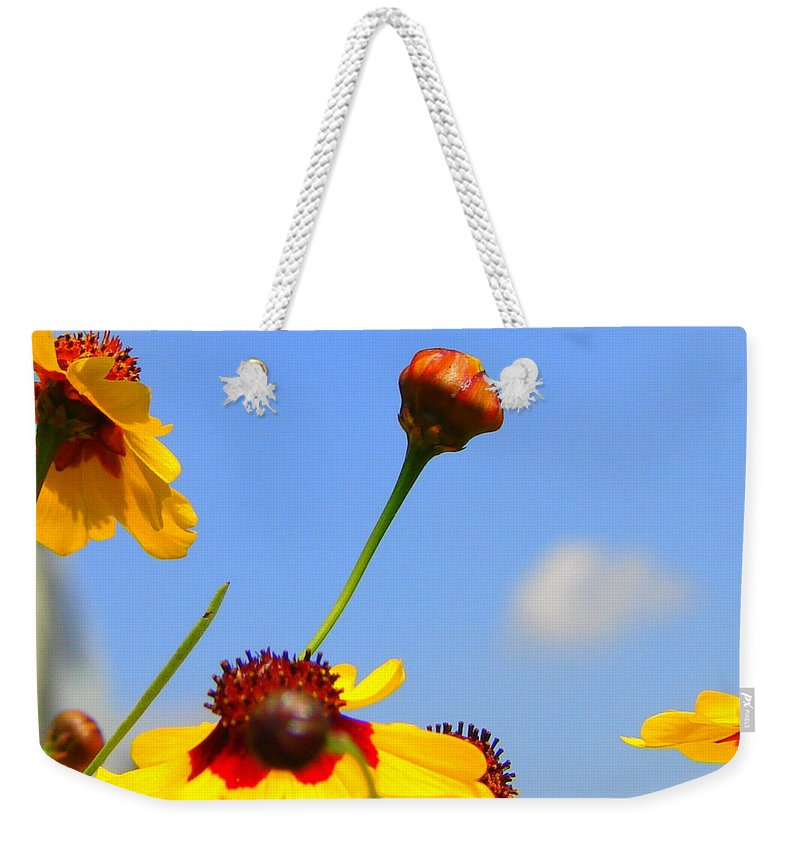 Photography Weekender Tote Bag featuring the photograph Wildflowers by J R Seymour
