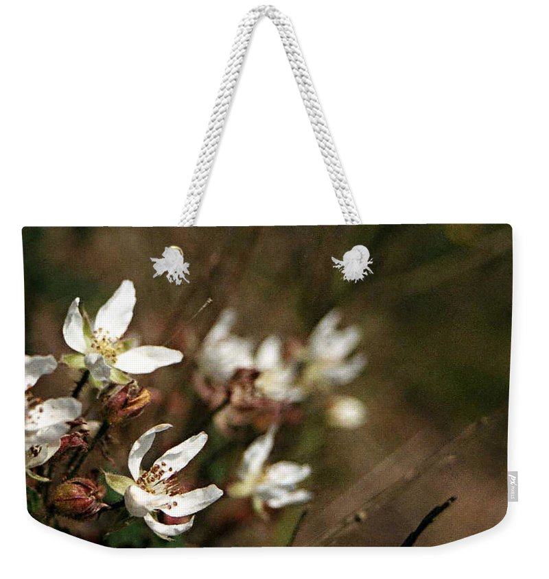 Wildflowers Weekender Tote Bag featuring the photograph Wildflowers by Marna Edwards Flavell