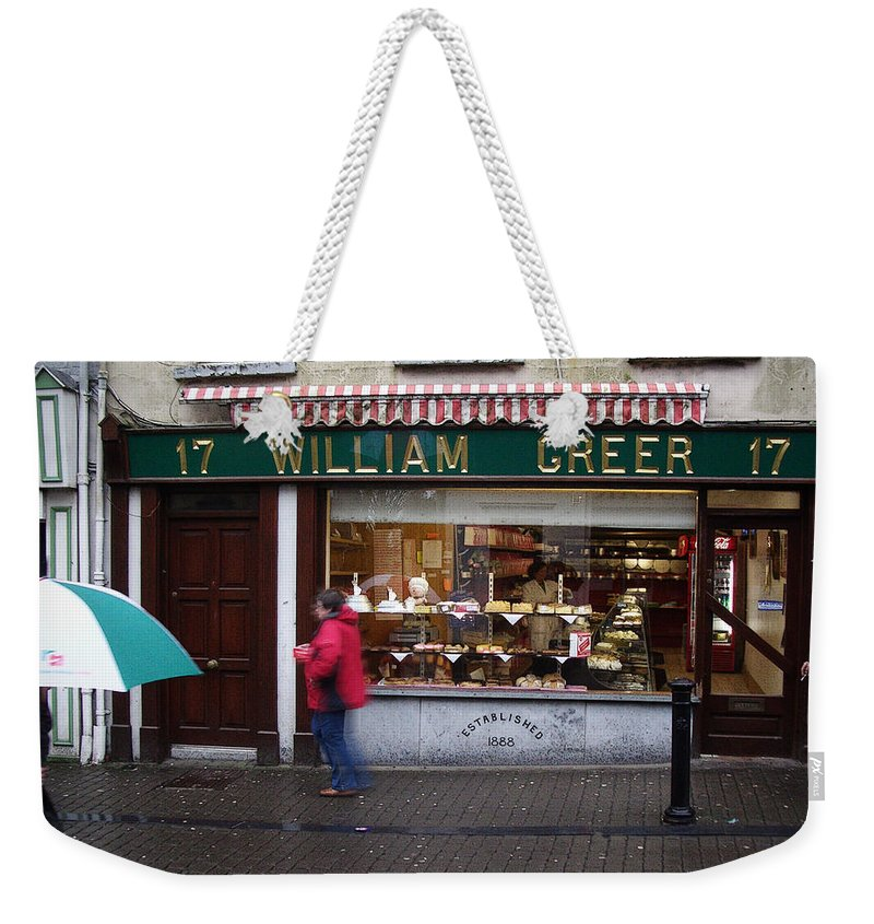 Ireland Weekender Tote Bag featuring the photograph William Greer by Tim Nyberg