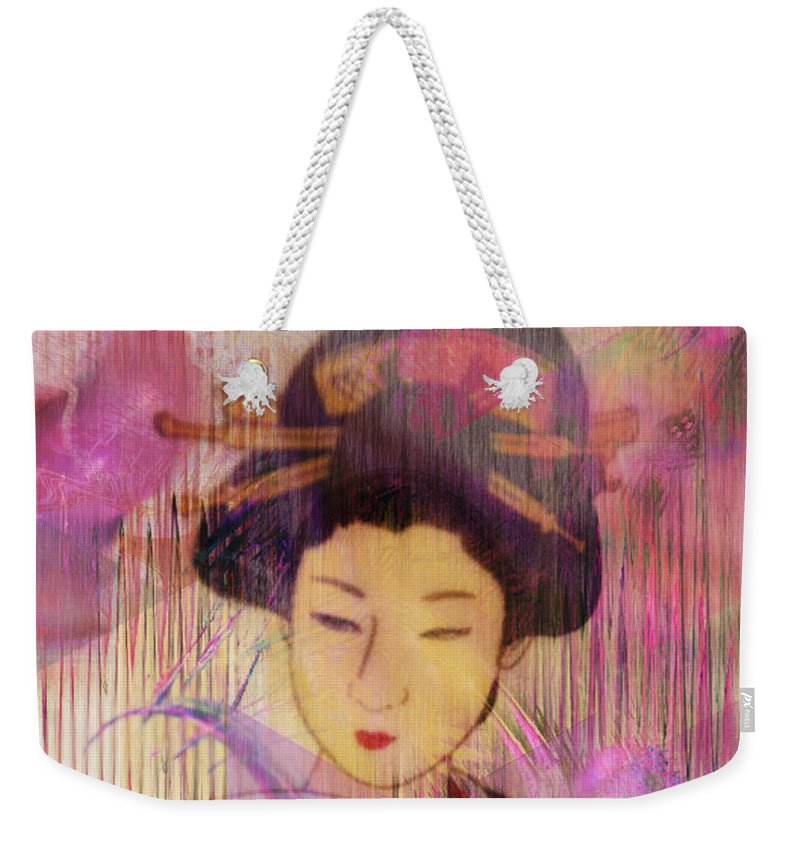 Willow World Weekender Tote Bag featuring the digital art Willow World by John Beck